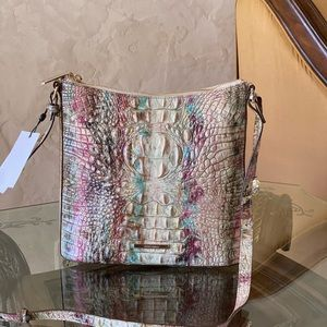 NWT Brahmin Katie Amethyst crossbody handbag